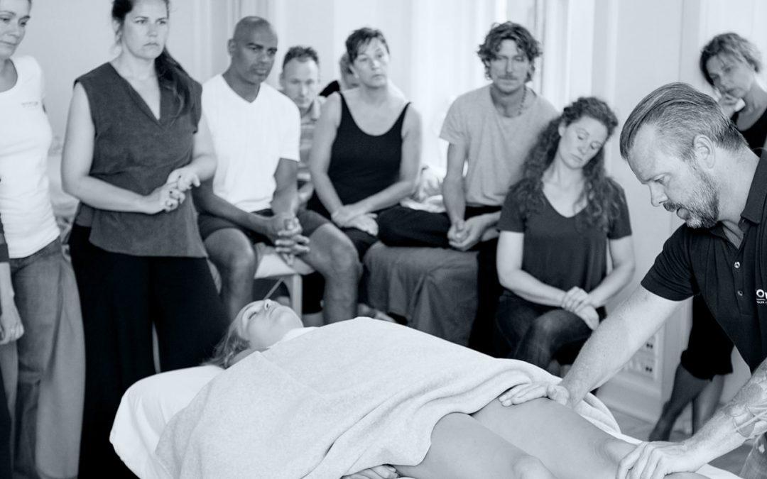 Første undervisningsdag på uddannelsen til kropsterapeut
