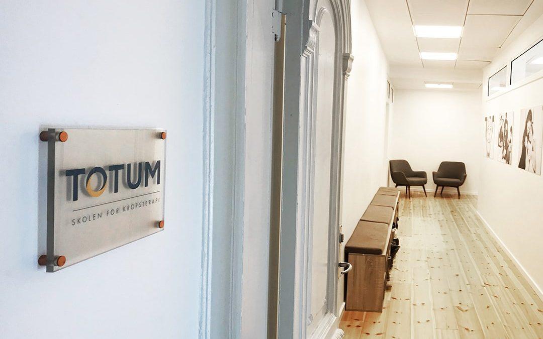 Stor stigning i interessen for uddannelsen har flyttet Totum i nye og lækre lokaler
