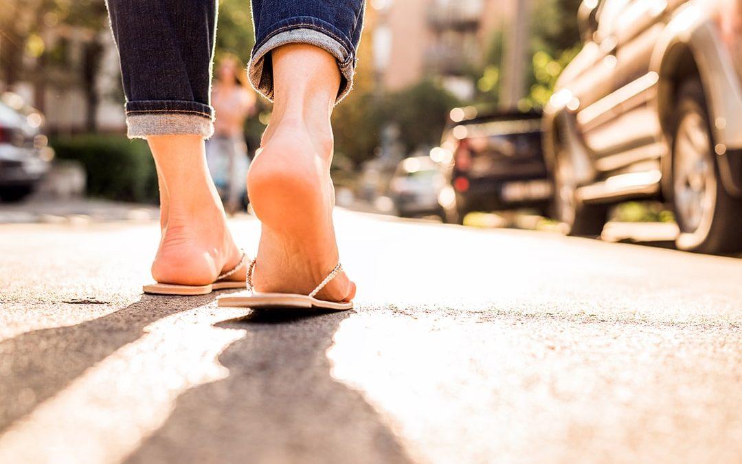 Dine sommersko kan smadre dine fødder