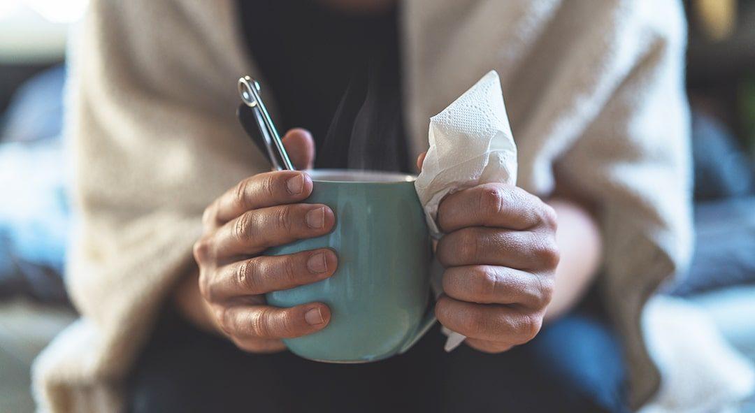 Drop næsespray: Let trykket ved en forkølelse med to simple øvelser